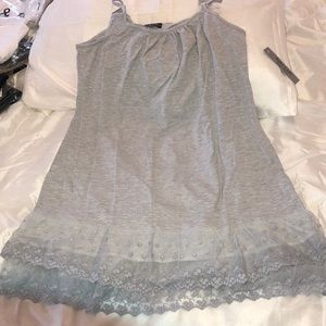 Other - Gray lace Cami Extender NEW 3XL